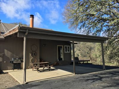 Photo for Mendocino Getaway With Wrap-Around Deck And Stone Fireplace Fit For All-seasons