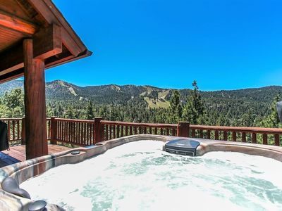 Photo for ~Heavens View~Elite Furnished Log Cabin Chalet~Foosball/Pool Table~Minutes To All~