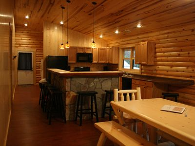 Photo for Spacious Northern MN Log Cabin on Cufoot Sioux and Lake Winnibigoshish