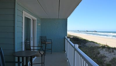 Photo for Pierview 103 - Great Views!! Updated 2 BR Oceanfront Condo