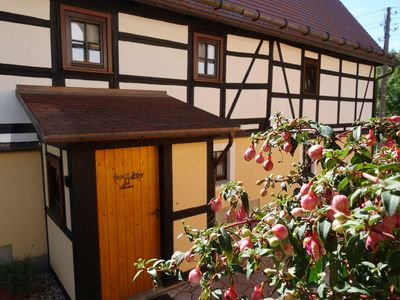 Photo for Ferienwohnung Zeittor - Stylish living in an old half-timbered house in Saxony