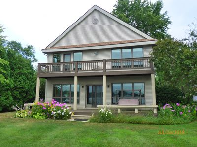 Photo for Portage Lakefront - Great View & Location - 5 Bedrooms - 3 Baths - 2 Car Garage