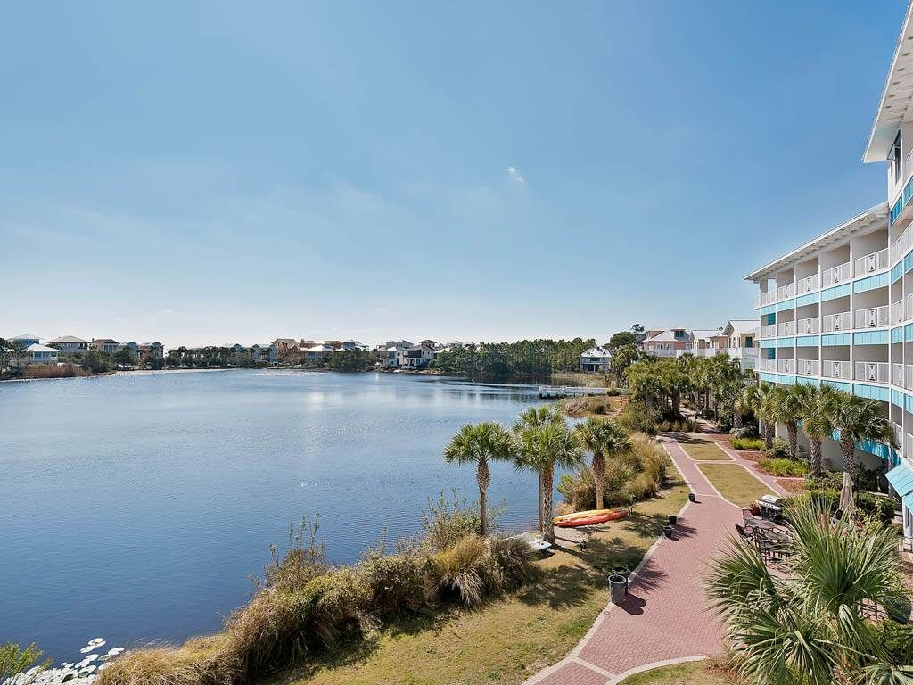 Newly remodeled lakefront one bedroom *Carillon Beach Inn B313*