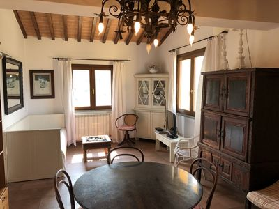 Photo for Apartment house on the edge of medieval Castagneto-Carducci, App. Filipo