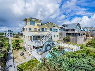 Photo for Patti's Place - Peaceful 5 Bedroom Oceanfront Home in Avon