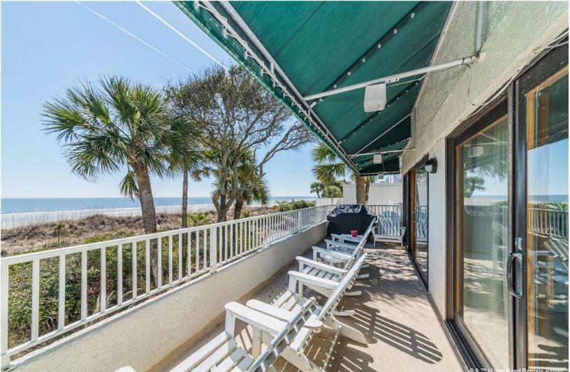 8 Beach Villas Charming Oceanfront Condo In Palmetto Dunes W Community 1048343