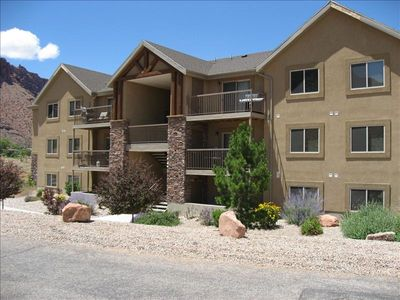Photo for Popular Modern Condo, New Pool & Hot tub, Best Value in Moab
