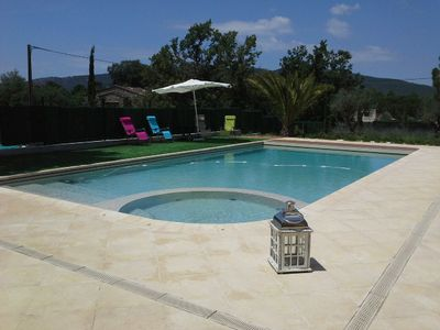 Photo for Single-storey villa with pool on 2300 m² plot