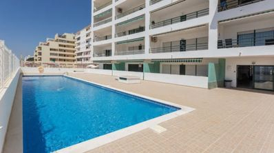 Photo for Sea view SPECIAL OFFER! -20% Apartment in Quarteira - NO BOOKING FEES