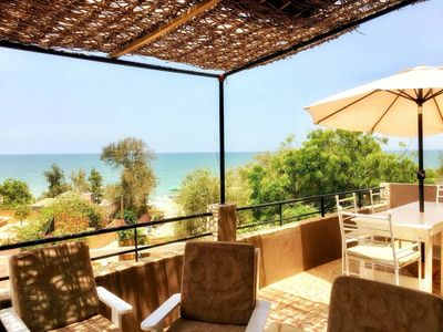 Photo for Large villa Assaman sea view with pool