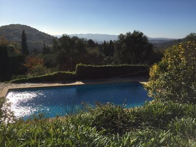 Photo for Traditional Provencal House with heated pool and tennis court