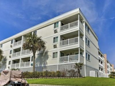 Photo for Myrtle Beach Condo on Shore Drive, 1st Floor. Steps from the Sand, Beach Access