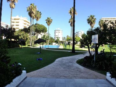 Photo for BEAUTIFUL POOL AND VIEWS TO THE SEA. UP TO 6 PEOPLE. 150 METERS FROM THE BEACH