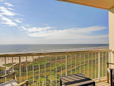 Photo for Galvestonian 1002-Beachfront Getaway is a 2/2, the views!