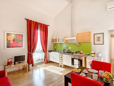 "Photo for ""Michelangelo"" apartment overlooking the city"
