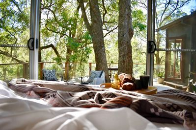 Slow mornings are normal at  The Treehouse Kangaroo Valley