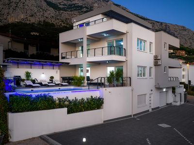 Photo for Luxury Villa Palladium in the Center with *Heated Pool, *Penthouse and *Jacuzzi