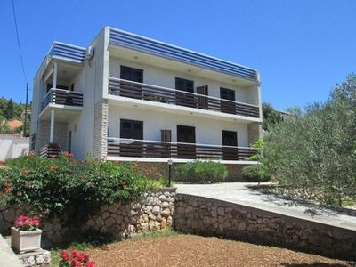 Photo for One bedroom apartment with balcony and sea view Tisno (Murter)