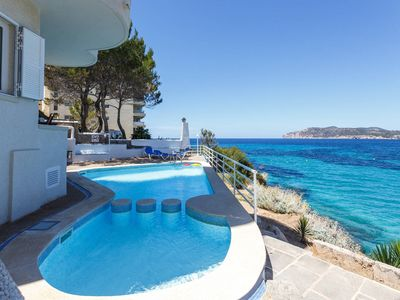 Photo for Rental First line of the sea & swimming pool, Family holidays, Costa de la Calma