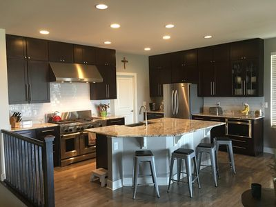 Gourmet kitchen/gathering room, fully stocked with everything you need!