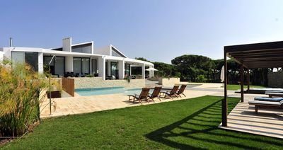Photo for Villa Cypress offers privacy in a spacious tranquil setting, this stunning open plan, light and airy