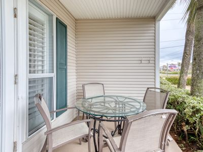 Photo for 1st Floor Cozy, coastal condo, Steps to the gulf, Minutes to entertainment
