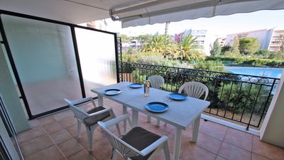 Photo for Apartment 4 people - Swimming pool residence - Air conditioning - WiFi - Sainte Maxime
