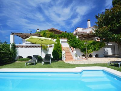Photo for Village house with large garden and pool, located in a quiet street in the center of Begur