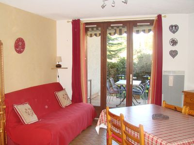 Photo for T2 RdeC + garden 400 m body of water Embrun 250/450 € week 4pers.
