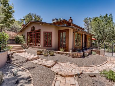 Peaceful, private, secluded wooded sanctuary located in the heart of Sedona.