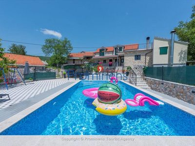 Photo for Holiday home Stipes Hof with pool only 30 minutes from the coast