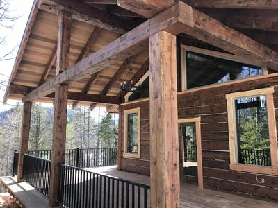 Photo for Enjoy the Quiet of MT@Spoon Lake Cabin Brand New Custom Home Every Amenity