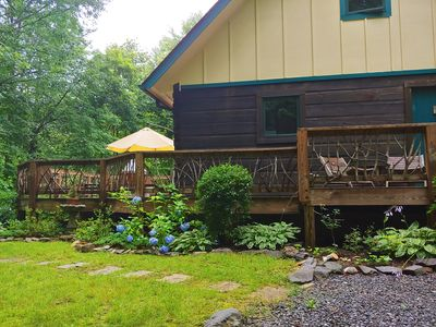 Photo for 3BR Cabin Vacation Rental in Black Mountain, North Carolina