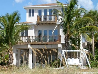 Palm Villa as viewed from the Beach