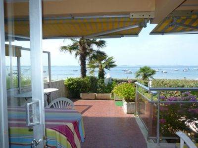 Photo for ARCACHON PEREIRE / JOIGNY - T3 WITH GARDEN / VIEW AND DIRECT ACCESS PRIVATE POOL