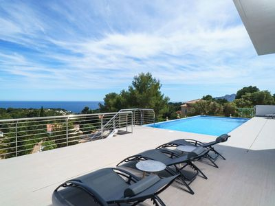 Photo for Wonderful private villa for 8 people with A/C, private pool, WIFI, TV and parking