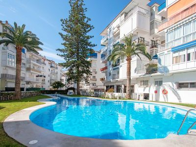 Photo for Apartment next to Torrecilla beach, Nerja Edif. Almeria
