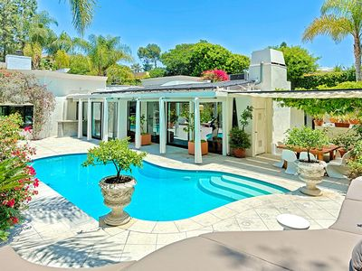 Photo for Exquisite Beverly Hills Poolside Getaway With Many Luxurious Scenes