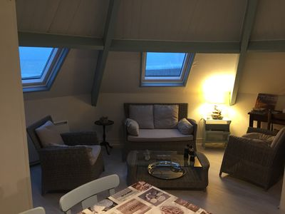 Photo for Apartment in Cayeux sur Mer in Somme Bay, sea view, at the foot of the beach