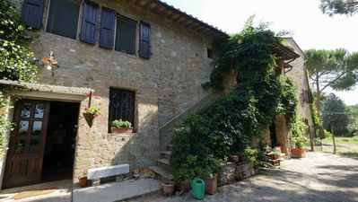 Photo for Apartment in renovated farmhouse 2 bedrooms 2 bathrooms, 10 min. from Perugia. 75 square meters