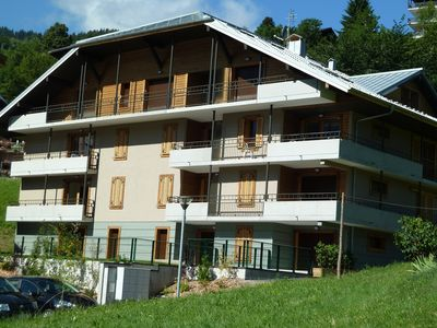Photo for 4 Bedroom Apartment next to ski lift in Saint Gervais