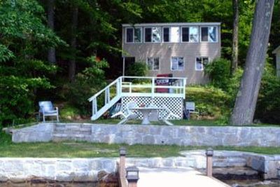 Photo for Highland Lake Gorgeous Sunsets 3RD BAY East Side, Private dock