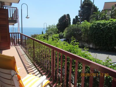 Photo for Apartment just steps from the sea
