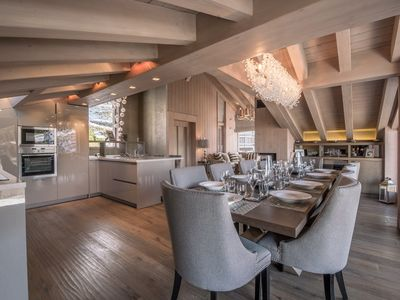 Photo for Chalet Cortina, sunny hillside of Courchevel 1650