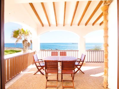 Photo for VILLA WITH SEA VIEWS, COLONIA DE SANT JORDI