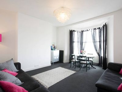 Photo for Beautiful Margate Cliftonville Flat with Sea View & Patio