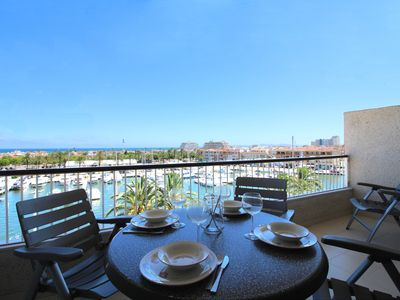 Photo for Apart-Rent-Apartment with view on canal and sea (0162)