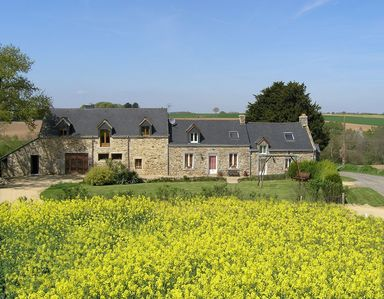 Photo for 2BR Cottage Vacation Rental in La Chapelle-Neuve, Brittany