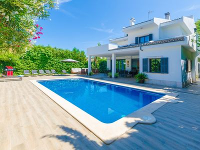 Photo for VILLA DIAGONAL - Villa with private pool in Can Picafort.