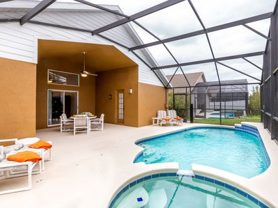 Photo for Vacation home with heated pool & Hot Tub in Indian Creek, 3 miles from Disney